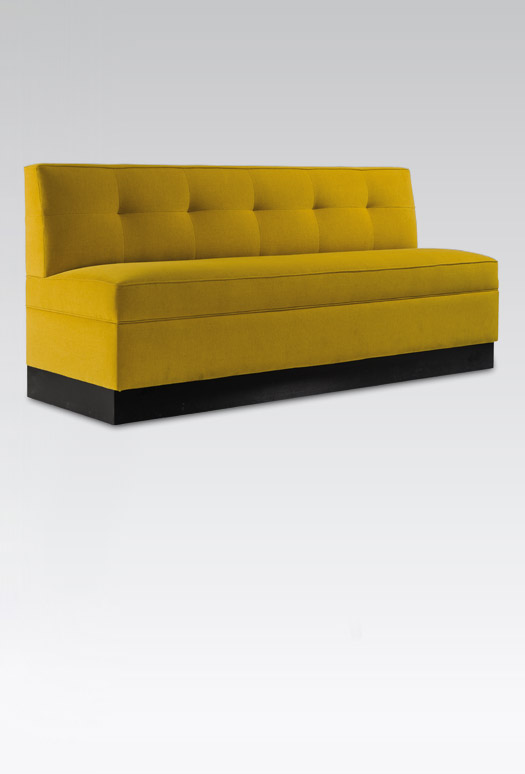 Canap convertible luxe banquette d co chr collinet for Canape banquette convertible