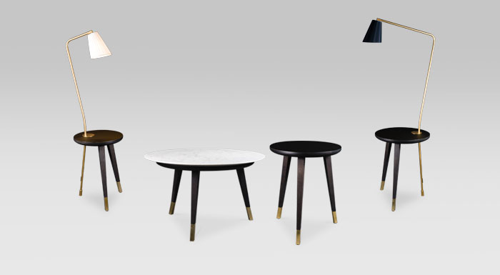 Tables de la collection Milano