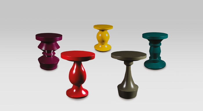 Tables design Pions