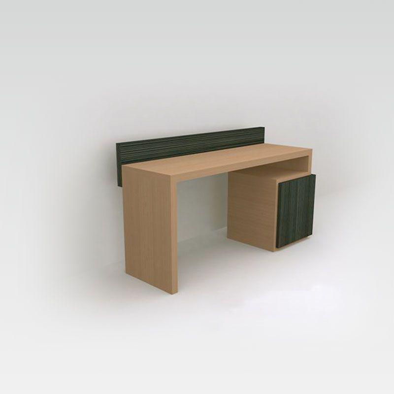 bureau minibar pour chambre d 39 h tel russy collinet. Black Bedroom Furniture Sets. Home Design Ideas