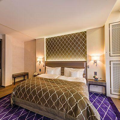 T te de lit de luxe pour hotel haut de gamme collinet - Tete de lit hotel de luxe ...