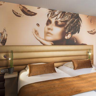 T te de lit de luxe pour hotel haut de gamme collinet - Peinture professionnelle haut de gamme ...