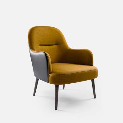 Fauteuil moderne pour restaurant h tel et bar collinet - Moderne fauteuil ...