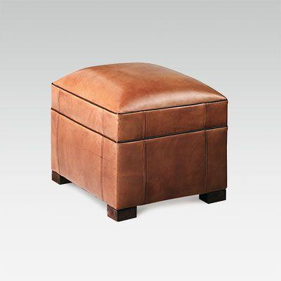 Fauteuil club en cuir de fabrication française   Collinet ba9b539e5365