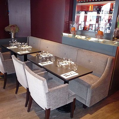 banquette pour restaurant h tel et bar collinet. Black Bedroom Furniture Sets. Home Design Ideas