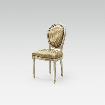 Chaise Louis XVI Medaillon