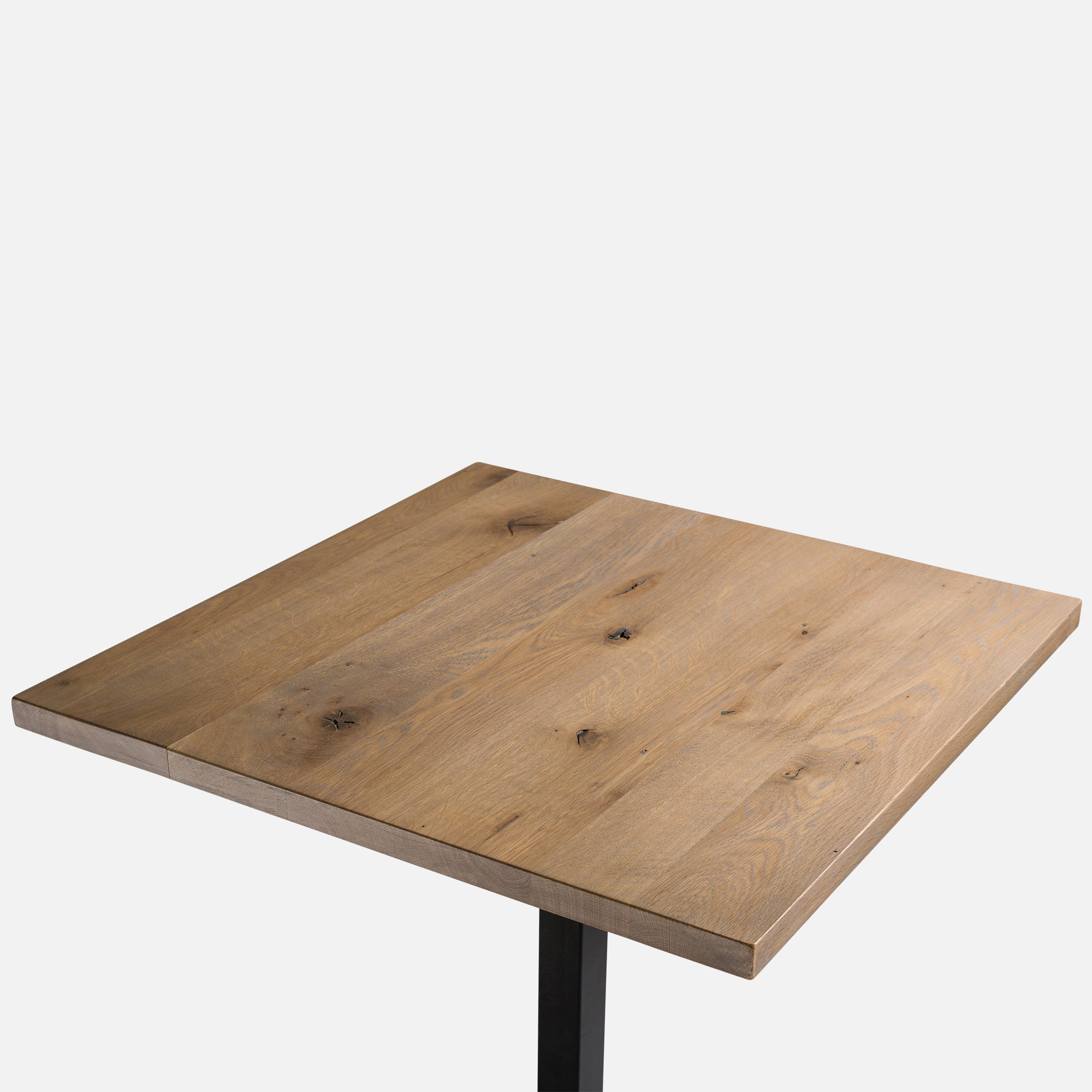 Table bois chene massif maison design - Plateau de table chene massif ...