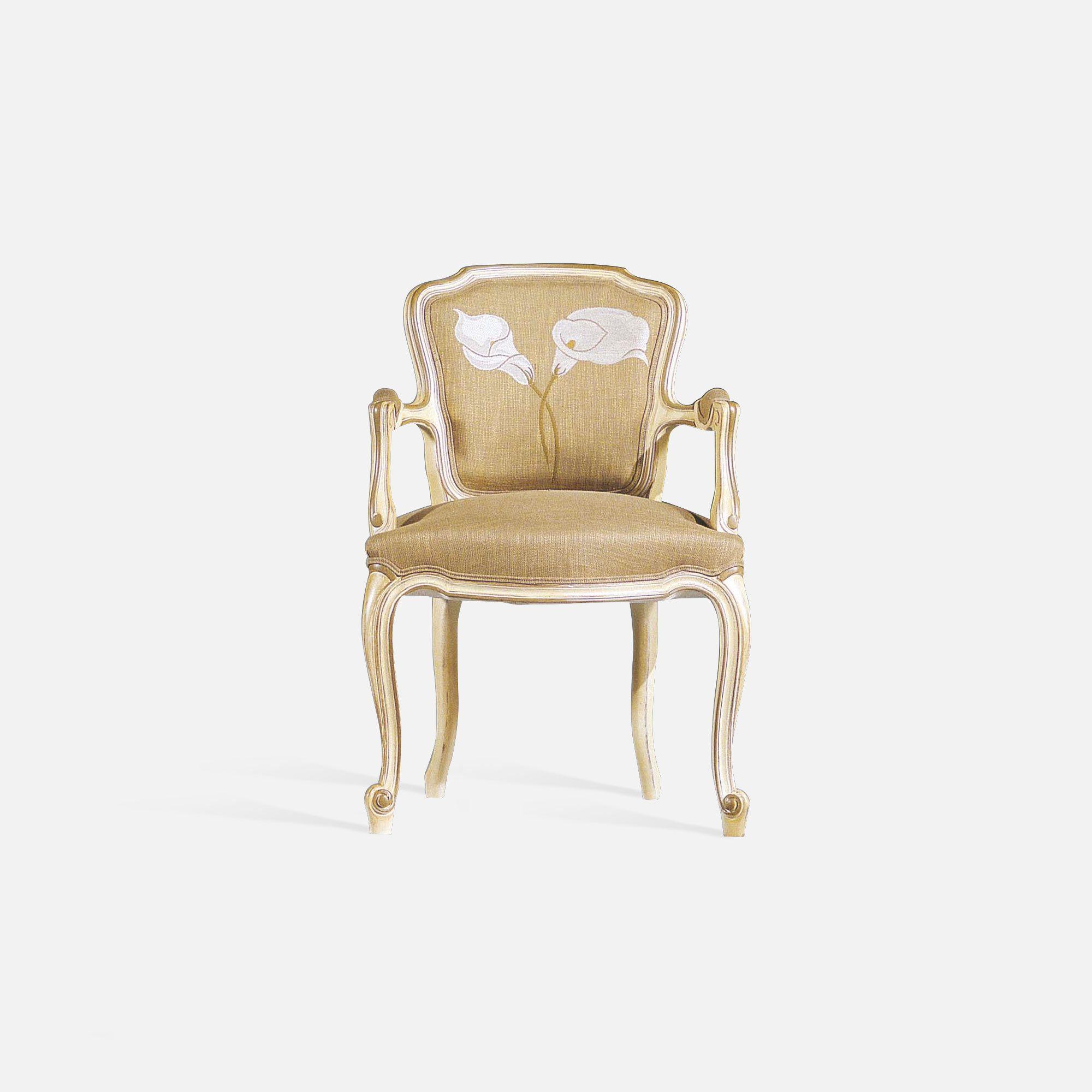fauteuil cabriolet louis xv si ge de style tapissier. Black Bedroom Furniture Sets. Home Design Ideas