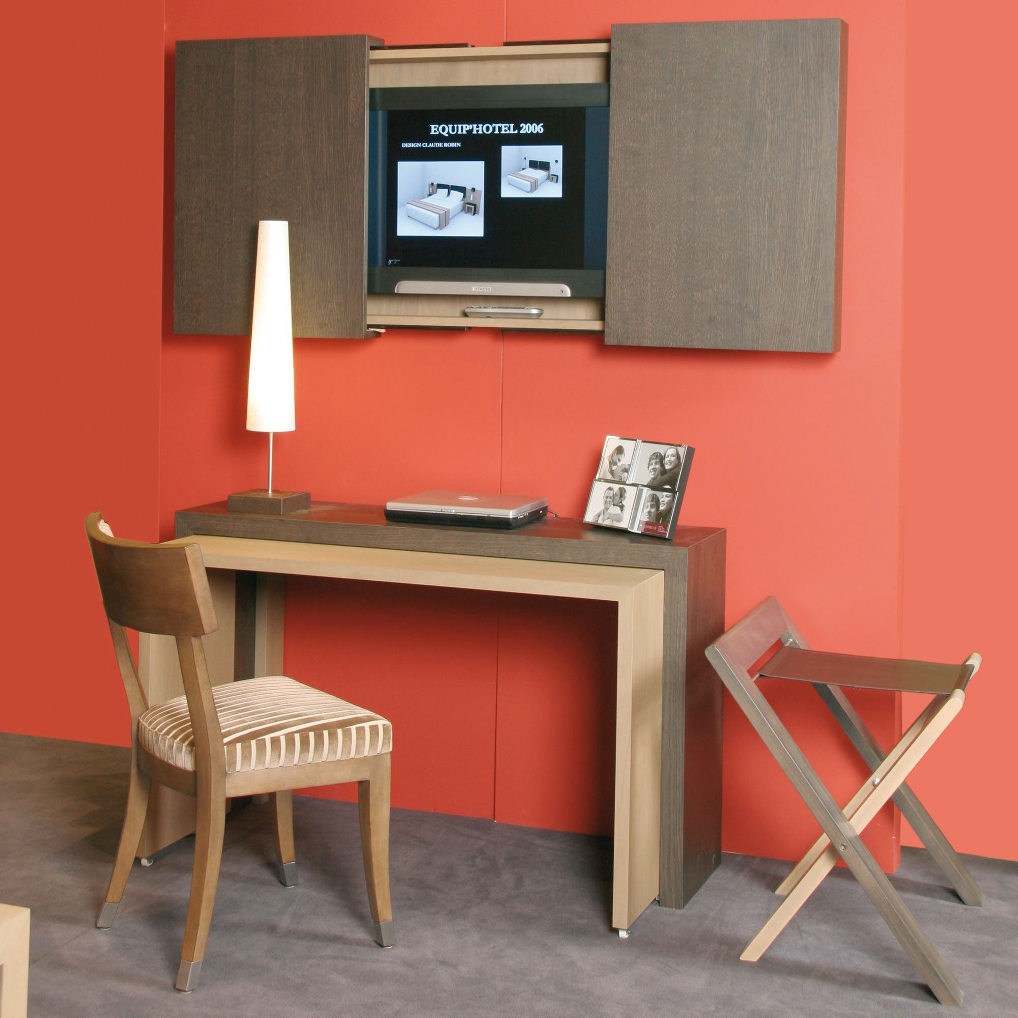 Meuble Tv Bureau Urbantrott Com # Creation Meuble Tv Bibliotheque Bureau