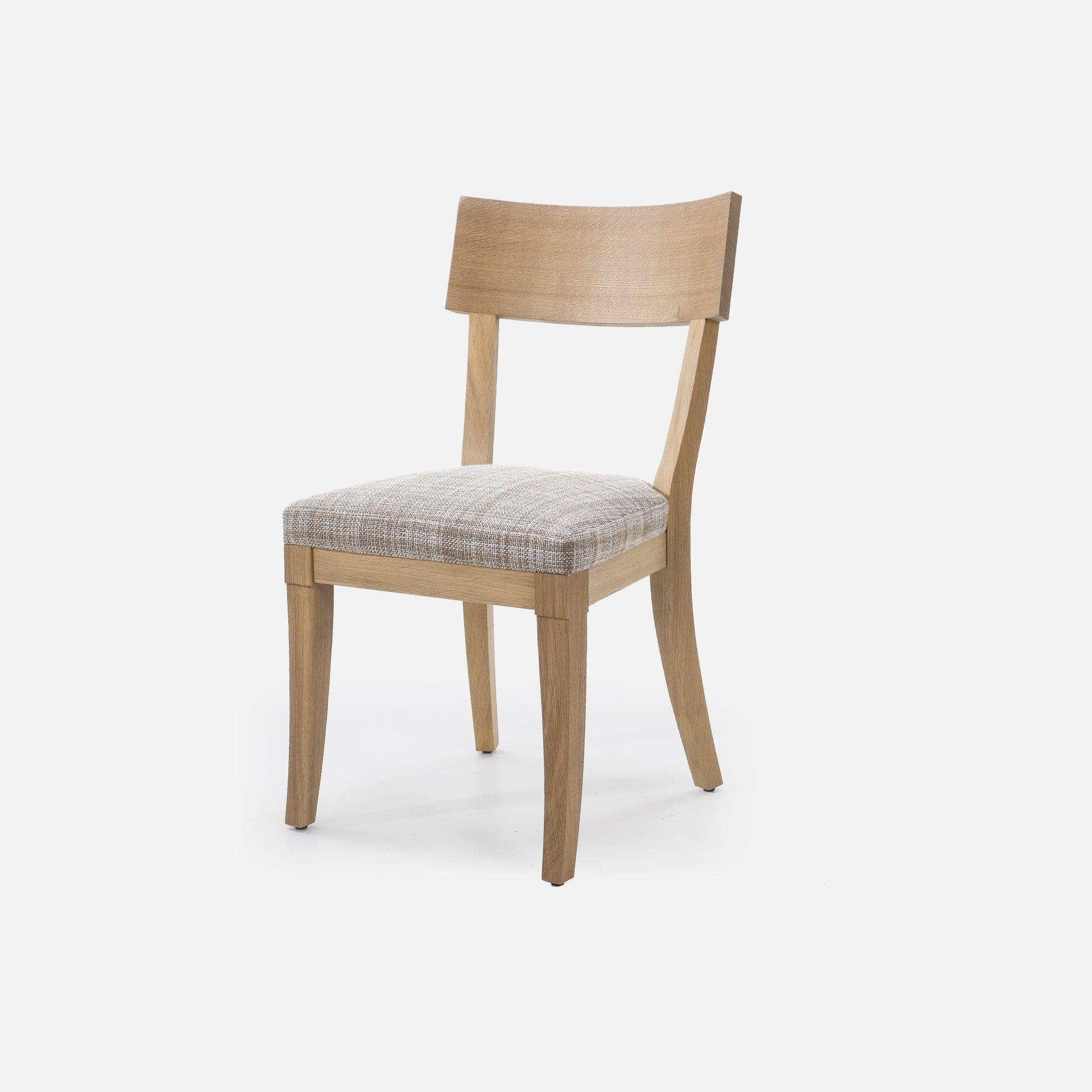 chaise en bois clair pour restaurant : factory | collinet