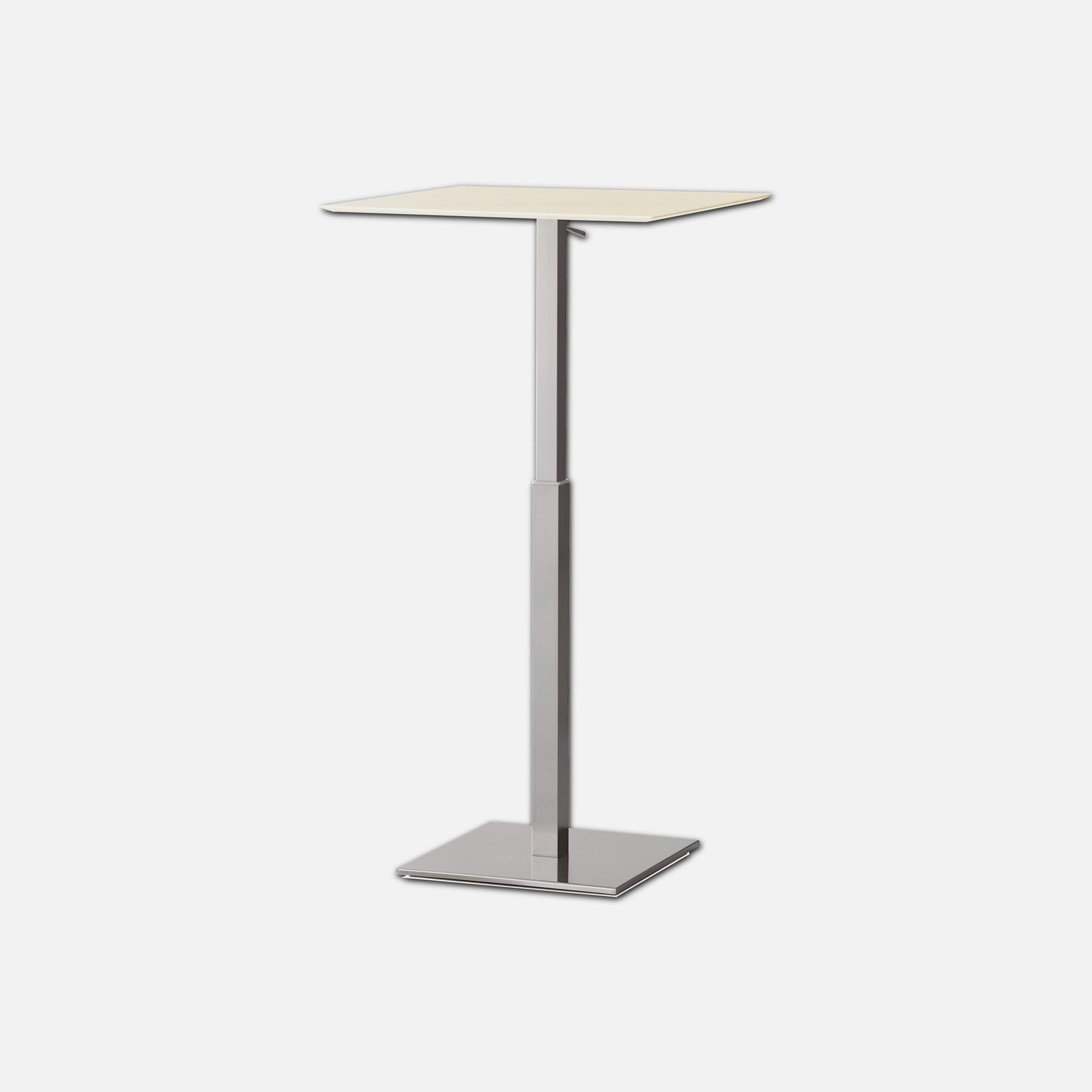table carrée réglable en hauteur pour chr nox   collinet