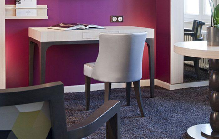r alisation mobilier grand h tel des thermes collinet. Black Bedroom Furniture Sets. Home Design Ideas