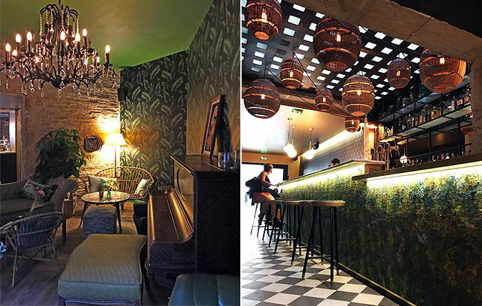 Mobilier Du Bar Le Bagatelle  U00e0 Nancy